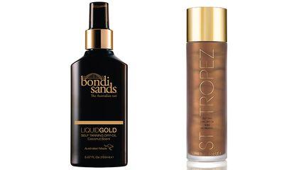 "#5 <a href=""http://bondisands.com.au/liquid-gold-self-tanning-oil.html "" target=""_blank"">Liquid Gold, $19.95, Bondi Sands</a> and <a href=""http://shop.sttropeztan.com.au/self-tan-luxe-dry-oil/"" target=""_blank"">Luxe Dry Oil,$49.95, St Tropez</a>"