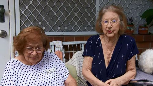 Sisters Alber and Antonia had lived in the housing block for nine years.
