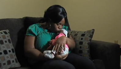 Mum gives birth to baby without knowing she was pregnant