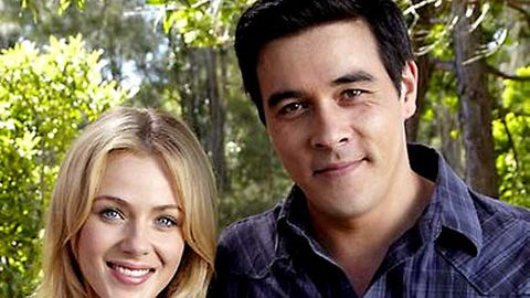 Packed to the Rafters stars Jessica Marais and James Stewart are having a baby