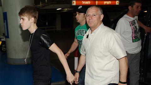 Justin Bieber and Moshe Benabou