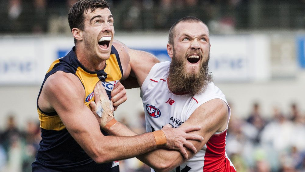 Scrappy Eagles lucky to beat Demons in AFL