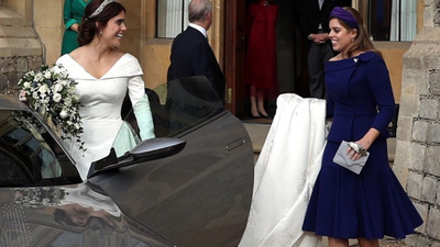 Princess Eugenie's sweet tribute to Beatrice on sibling's day
