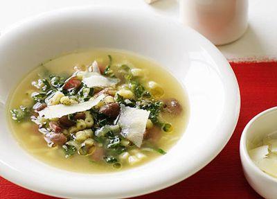 "Recipe: <a href=""http://kitchen.nine.com.au/2016/05/17/15/12/ditalini-borlotti-bean-and-cavolo-nero-soup"" target=""_top"">Ditalini, borlotti bean and cavolo nero soup</a>"