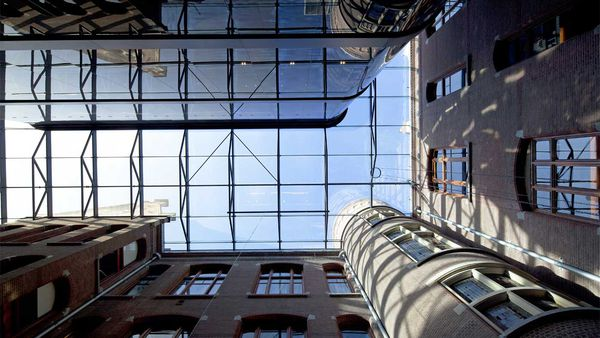 Conservatorium Hotel glass roof
