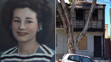 Natalie Wood on her 21st birthday, and the Kippax Street house today.