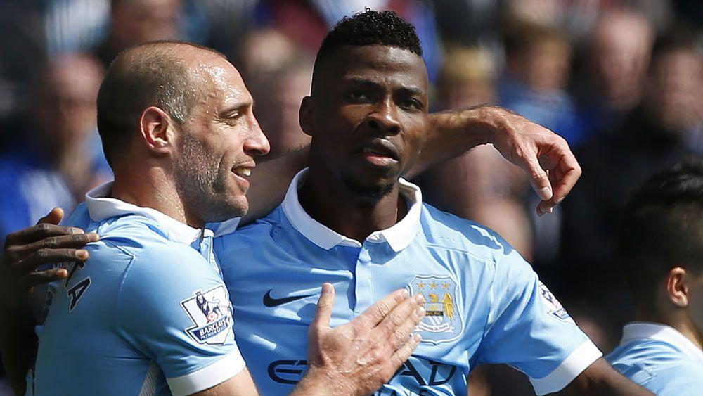 Man City crush Stoke to reclaim third spot