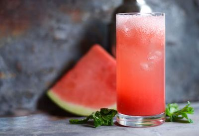 """Recipe: <a href=""""http://kitchen.nine.com.au/2016/05/20/10/07/tequila-watermelon-fizz"""" target=""""_top"""">Tequila watermelon fizz</a>"""