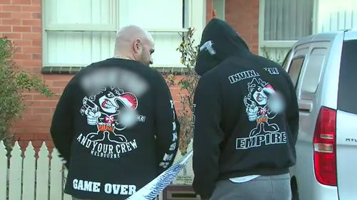 The Finks Motorcycle club is known to be one of the most violent outlaw motorcycle gangs in Australia. Picture: 9NEWS
