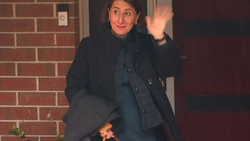 Gladys Berejiklian leaving home today