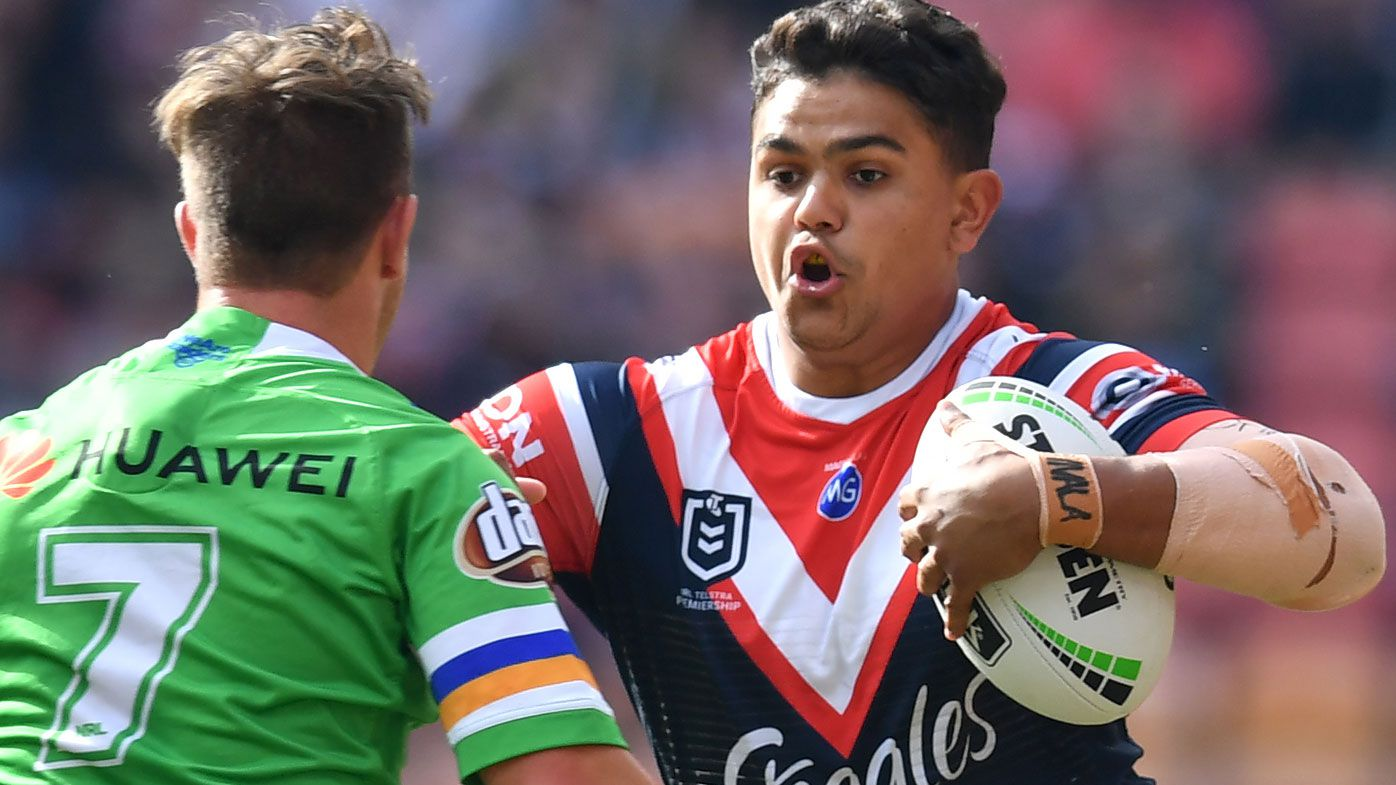 Latrell Mitchell should not move to five-eighth at Roosters, says Brad Fittler