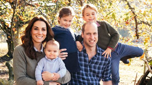 Princess Charlotte's striking resemblance to Diana in the Cambridge Christmas card