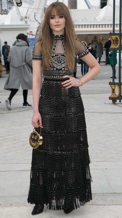Kristina Bazan at Valentino