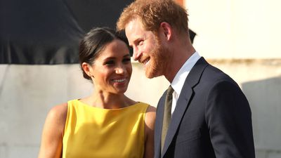 <p>PRINCE HARRY AND MEGHAN MARKLE ATTEND YOUTH CHALLENGE RECEPTION IN LONDON</p> <p> </p>