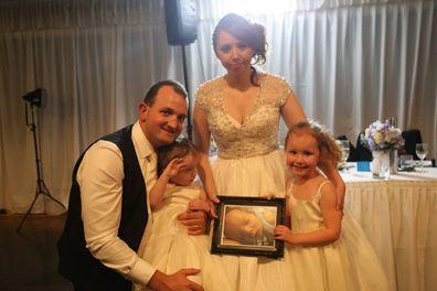 Rebbecca and Ben family wedding day