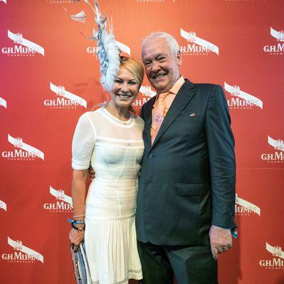 Kerri-Anne Kennerly, 63, and John Kennerley: Married 22 years