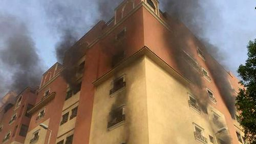 Two dead, at least 105 injured in Saudi Arabia housing complex fire