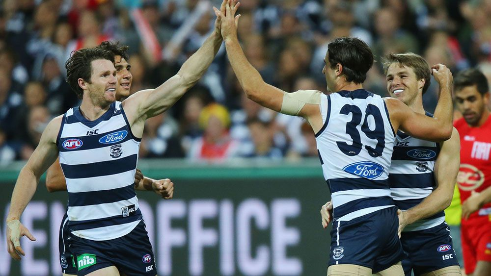 Cats thump Suns by 20 goals
