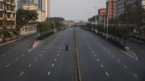 Streets empty in Wuhan as Chinese province undergoes strict lockdown