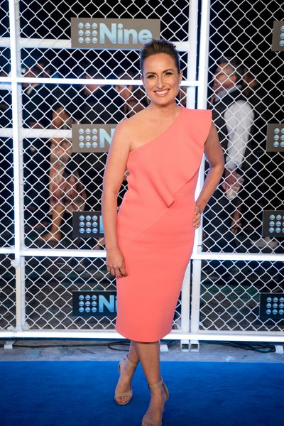 Jayne Azzopardi at the 2019 Nine Upfronts, Sydney, October 17, 2018