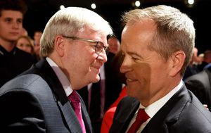 Rudd says Queensland election blame 'baloney'