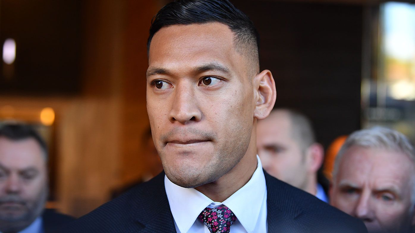 Israel Folau's puzzling defence of gay rights activist on social media