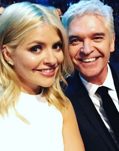Holly Willoughby, Phillip Schofield, selfie