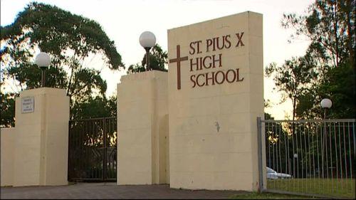 Denham taught at the Hunter Valley's St Pius X High School. (9NEWS)