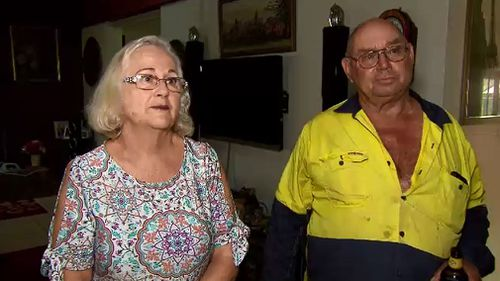 Sue and Henry Spierenburg were forced to hand their life savings to thieves. (Image: 9NEWS)
