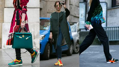 <p>Statement sneakers for when your white pair is beyond the pale.</p>