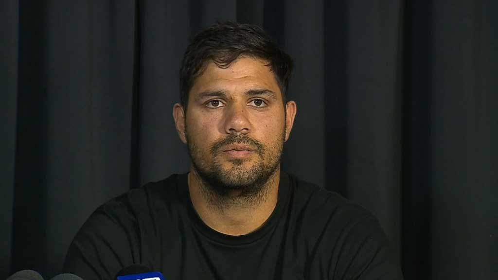 Paddy Ryder addresses the media