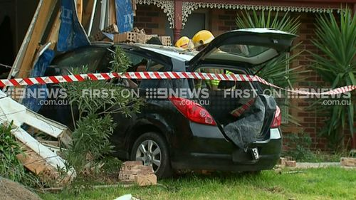 Car smashes into house in Melbourne's north-west