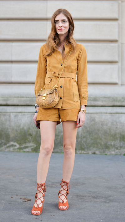 <p>The suede jacket</p>