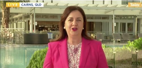 Queensland Premier Annastacia Palaszczuk announced the program on the Today Show this morning.