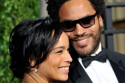 Lenny Kravitz and ex-wife Lisa Bonet are the proud parents of gorgeous Zoe, who has recently broken into Hollywood big time as one of the stars of <i>X Men: First Class</i>. She's also attracted the attention of gossip columns with her love life, stepping out with Michael Fassbender before moving on to<i> Gossip Girl</i> star Penn Badgley.