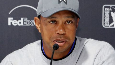 Inconsistent Tiger Woods opens with 72 at Riviera