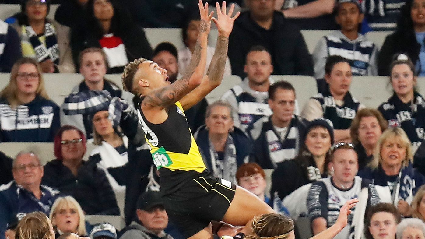 'Moronic system': Richmond's Shai Bolton misses out on AFL Mark of the Year nomination