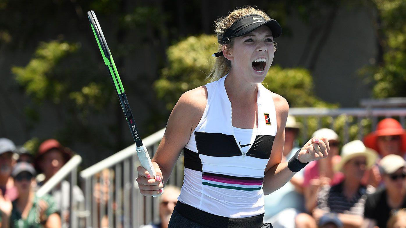 Katie Boulter forgets Australian Open tiebreak rule in first-round win