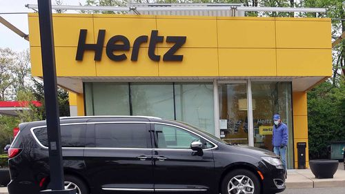 Herbert Alford was renting a car from Hertz at the time a murder was committed.