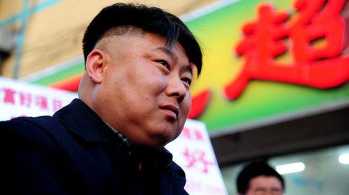 Kim Jong-Un lookalike sizzles in China