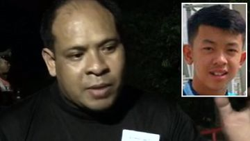 Father reacts to son's Thai rescue