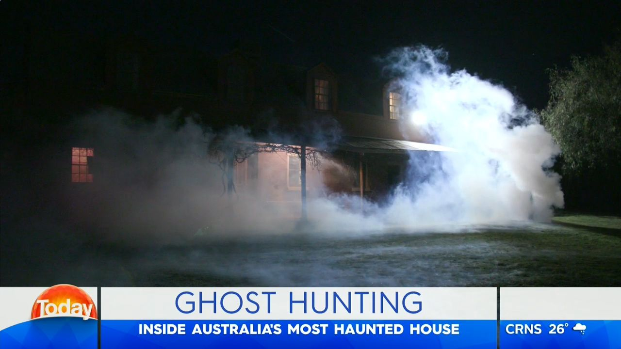 Australia's most haunted house