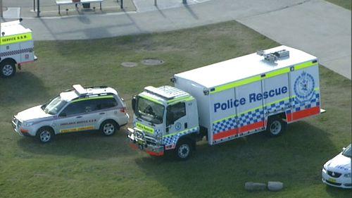 Emergency crews were called at around 1:30pm. (9NEWS)
