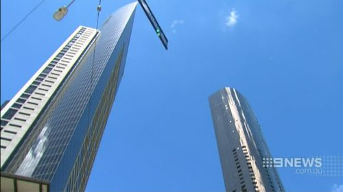 The structure will be 300m high with 84 floors. (9NEWS)