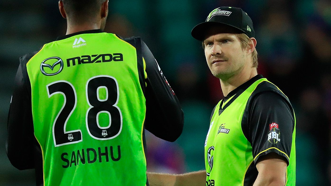 Sydney Thunder sack BBL coach after poor season