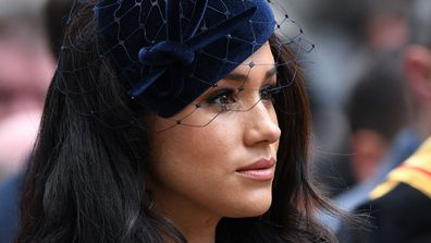 Meghan Markle first field of remembrance westminster abbey 2