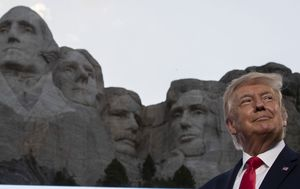 'Good idea' to put me on Mount Rushmore, says Donald Trump