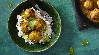 "Recipe: <a href=""http://kitchen.nine.com.au/2016/07/07/16/05/satay-pork-meatballs"" target=""_top"">Satay pork meatballs</a>"