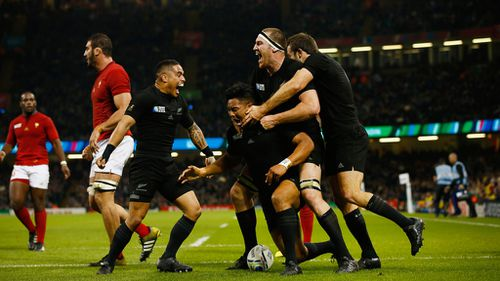 The All-Blacks are through to the World Cup semi-finals. (Getty)