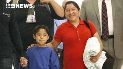 Mother and son reunite after fighting Trump's immigration policy